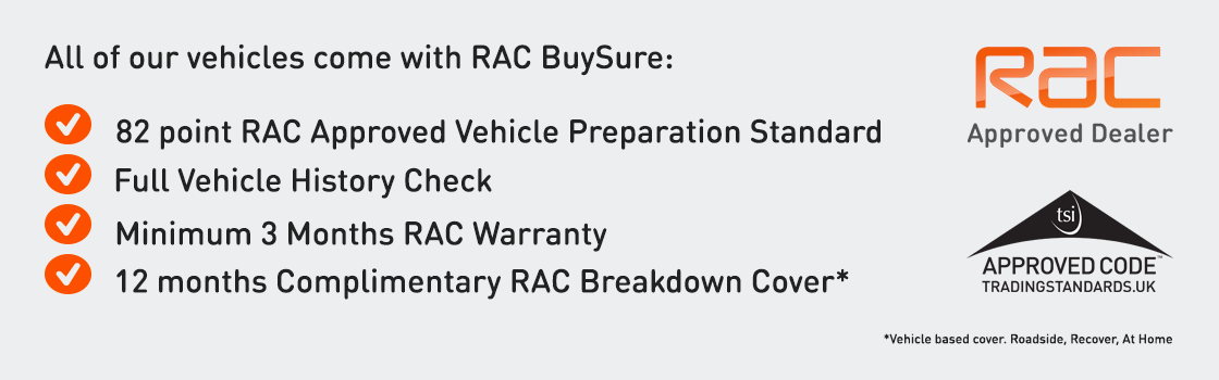 Rac Approved Dealer Buy In Complete Confidence